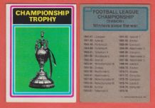 Football League Championship Trophy Division 1 298